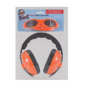 Baby Banz Earmuffs and Infant Hearing Protection and Sunglasses Combo 0-2 Years, Orange