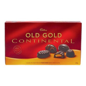 Cadbury Continental Old Gold Chocolates 200g