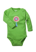 Tutta Long-Sleeve Body Suit in Light Green with Candy Lolly Print Size 62-98
