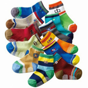 Dimore Baby Boy's Socks Gift Set-12-pack Socks-have Anti-skid Particles