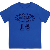 """Awesome at 36cm - Kids' Unisex Birthday T Shirt Gift"