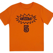 """Awesome at 13cm - Kids' Unisex Birthday T Shirt Gift"