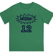 """""""Awesome at 30cm - Kids' Unisex Birthday T Shirt Gift"""