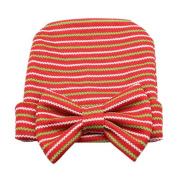 Vovotrade® Newborn Cute Hat Stripe Bow Baby Girl Boy Hospital Hat