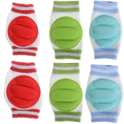 Imixlot Infant Baby Crawling Knee Pad Toddler Elbow Pads (3color
