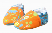 Tangda Baby Boys Girl Soft Crib Winter Boots Toddler Infants Soft Sole Fashion Floral Printed Walking Shoes Size 12