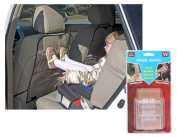Angel Guard Seat Buckle Safety Guard 2 Pack with Backseat Car Kick Protector ...