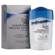 Sure Men Maximum Protectionclean Scent 48h Anti-Perspirant Deodorant, 45ml