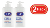 E45 2 PACK 500ML Dermatological Moisturising Lotion