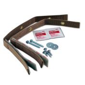 Quakehold! 4161 Furniture Strap Kit, Oak by Quakehold!