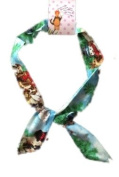 Christmas Puppies Print Wire 50's style Headband - Silly Old Sea Dog