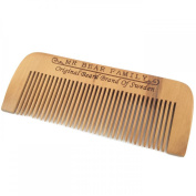 Mr Bear Family Wooden Hair/Beard Comb
