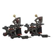 Redscorpion Handmade Coil Tattoo Gun for Liner and Shader Cast Iron Tattoo Machine