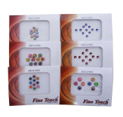 Pack Of 6 Traditional Bindi Self Adhesive Forehead Tattoo Sticker Gift For Women