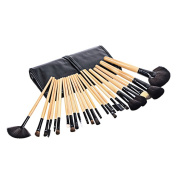 Olym Store 24pcs Professional Multifunctional Cosmetic Makeup Tool Finishing Brushes Kit