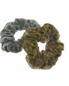 Zac's Alter Ego® Set of 2 Glitter Hair Scrunchies