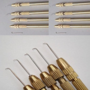One Ventilating Needle 1-2 strands & 1 Holder Set. From Jagazi Naturals