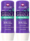 Aussie 3 Minute Miracle Strong Conditioning Treatment, 240ml, 2 pack