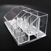 Acrylic Cosmetic Organiser Makeup Brushes Holder 1032