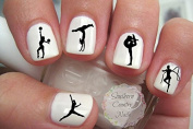 Gymnastics Nail Art Decals