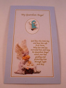 Guardian Angel ~ Enamel Brooch ~ Baby Boy