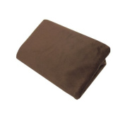 American Baby Company Heavenly Soft Chenille Fitted Contoured Changing Pad Cover, Chocolate Colour