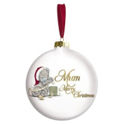 Merry Christmas Mum Me to You Bear Bauble Tree Decoration
