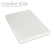 Comfort Kids Extra Thick 95 x 65 X 7cm Travel Cot Mattress , UK Made , Reversable ,