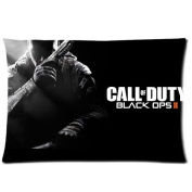 Custom Call of Duty Black Ops II Pattern 09 Pillowcase Cushion Cover Design Standard Size 20X30 Two Sides