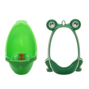 CkeyiN ® Froggy Children Baby Urinal Wall-Mounted Urine Groove - Perfect Mommy's Helper for Potty Training