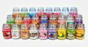 Small 90ml (85g) Glass Jar Scented Natural Soy Blend Candles (CHOOSE ANY 3) 1 FREE Some Scents Fragrant Sachet BY MAKBROS