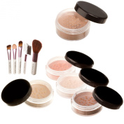 Mineralshack natural minerals MEDIUM BEIGE foundation 10 Piece Set