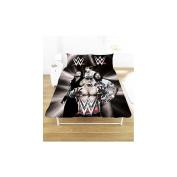 WWE Superstars Double Duvet Set Black