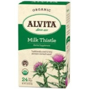 Alvita Teas Organic Herbal Tea, Milk Thistle 24 BAGS