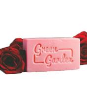 Green Garden Rose Handmade Soap 100ml