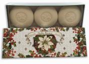 Saponificio Artigianale Fiorentino Stella Bianca Luxury Soap Set 3x150g