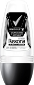 REXONA MEN INVISIBLE BLACK & WHITE 48H MOTION SENSE SYSTEM ANTI-PERSPIRANT DEODORANT ROLL-ON FOR MEN 1.7 Oz / 50 ml (ALCOHOL - FREE) BRAND NEW ITEM