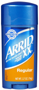 Arrid XX Solid Antiperspirant & Deodorant, Regular - 80ml