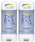 Dry Idea Clear Gel Antiperspirant/Deodorant, Powder Fresh - 90ml - 2 pk
