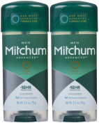 Mitchum Clear Gel Antiperspirant & Deodorant for Men, Unscented - 100ml - 2 pk