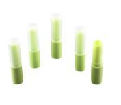 10pcs 4g Grass Green Upscale DIY Frosted Lip Balm Tube Lipbalm Tubes