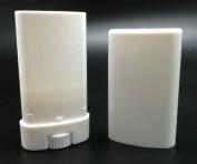 6 15 ML White Plastic Deodorant Tubes