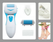Best Pedicure Callus Remover Foot File System - Comes with a Bonus Gift - All Electronic and Rechargeable - Remove Dead Skin on Cracked Heels - Perfect Tool for Maintaining Great Foot Health