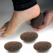 3 Natural Volcanic Lava Pumice Stone Foot Skin Pedicure Callus Dead Skin Remover by ATB
