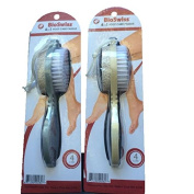 BioSwiss 4 in 0.3m Care Paddle-Grey & Tan-Total 0.6m Paddles