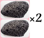 2pcs Pumice Stone Dead Sea Remove Dead Skin Calluses Exfoliate Smooth Feet SPA 130