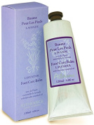 Attirance - Foot Care Balm - Lavender - 120ml - All Natural with Lavender Essential Oil, Castor Oil & Calendula Extract