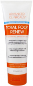 Advanced Clinicals Total Foot Renew Cream- Relief for Dry Itchy Skin, Tough Calluses, Cracked Heel. 240ml