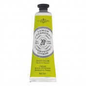 La Chatelaine 20% Shea Butter Hand Cream, 1 fl oz (30 ml), Made in France with Organic Shea Butter and Argan Oil - Lemon Verbena