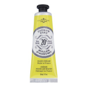 La Chatelaine 20% Shea Butter Hand Cream, 1 fl oz (30 ml), Made in France with Organic Shea Butter and Argan Oil - Citrus Fizz